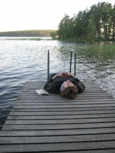 Relaxing in Finland
