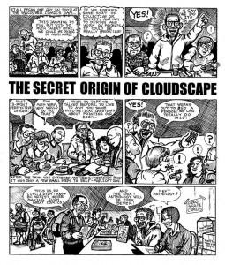Cloudscape Comics origin